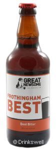 Great Newsome Frothingham Best 50cl