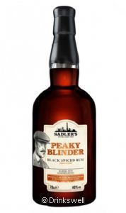 Peaky Blinder Spiced Rum 70cl
